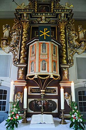 Altar in der Kirche zu Gödringen